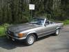Mercedes 280 SL Type R107 de 1975 avec Hard-top 3/4 avant