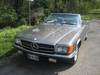 Mercedes 280 SL Type R107 de 1975 avec Hard-top face